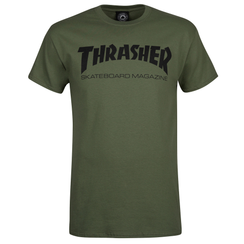 Футболка THRASHER SKATEMAG-S/S Army Green