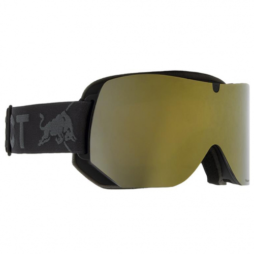 Маска SPECT RED BULL Clyde BLACK/GOLD SNOW - SMOKE WITH GOLD MIRROR