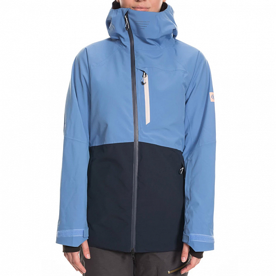 Куртка 686 WMS GLCR HYDRA INSULATED JKT WASHED INDIGO COLORBLOCK