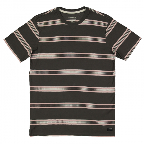 Футболка BILLABONG DIE CUT STRIPE CREW RAVEN