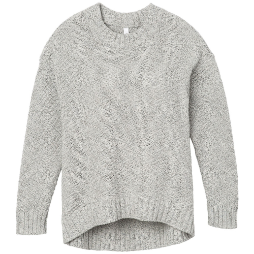 Свитер RVCA ZIGGED SWEATER HEATHER GREY