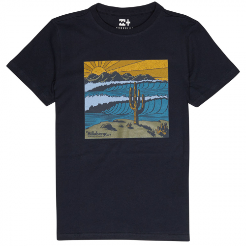 Футболка BILLABONG DESERT TEE SS BOY NAVY
