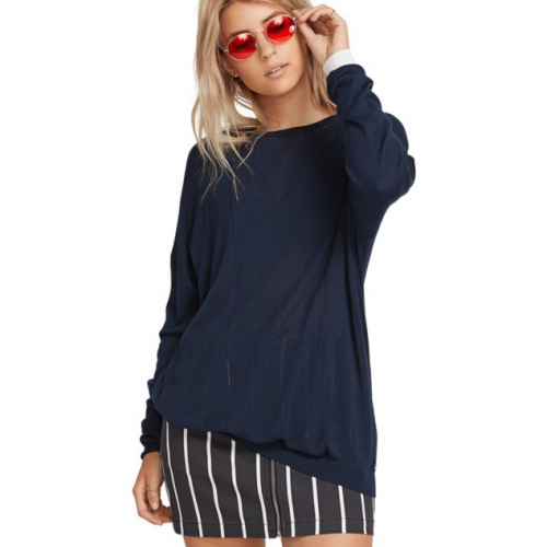 Джемпер VOLCOM SIMPLY STONE LS KNIT SEA NAVY