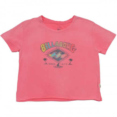 Футболка BILLABONG CROP TEE CORAL SHINE