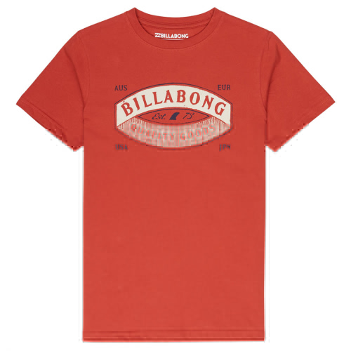 Футболка BILLABONG GUARDIANT TEE SS BOY RUSTIC RED