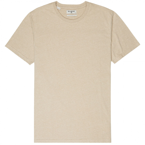 Футболка BILLABONG ALL DAY CREW SS Gravel