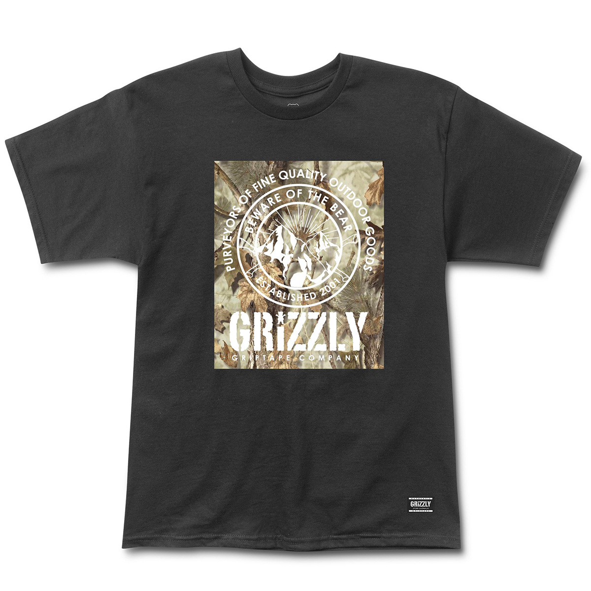 Футболка GRIZZLY TERRIAN S/S TEE BLACK